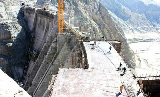The Application of Self Drilling Anchor Bolts in Gomal Zam Dam