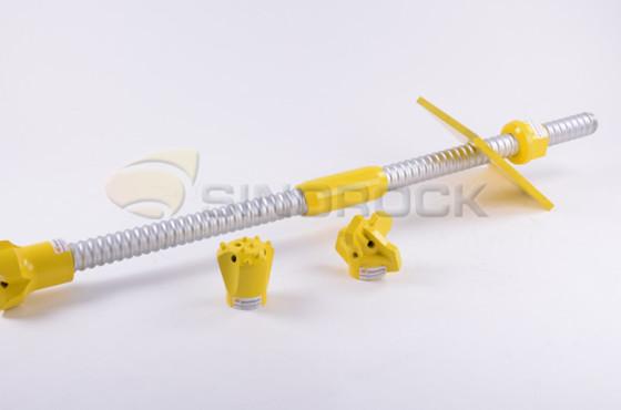 T40 self drilling rock bolt