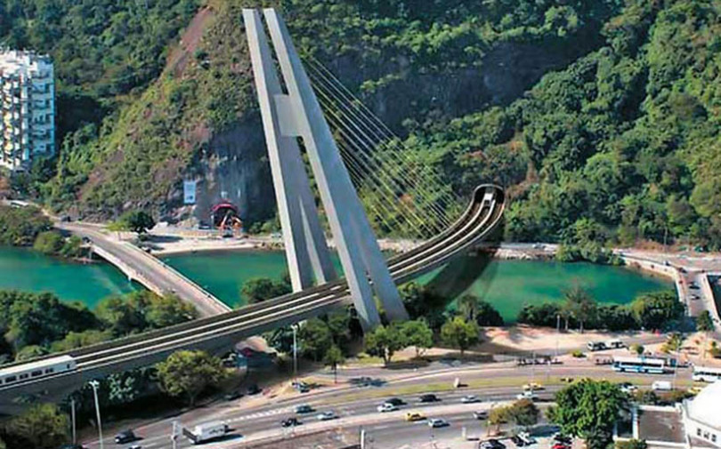 Rio de Janeiro Metro Line 4 tunnels are complete