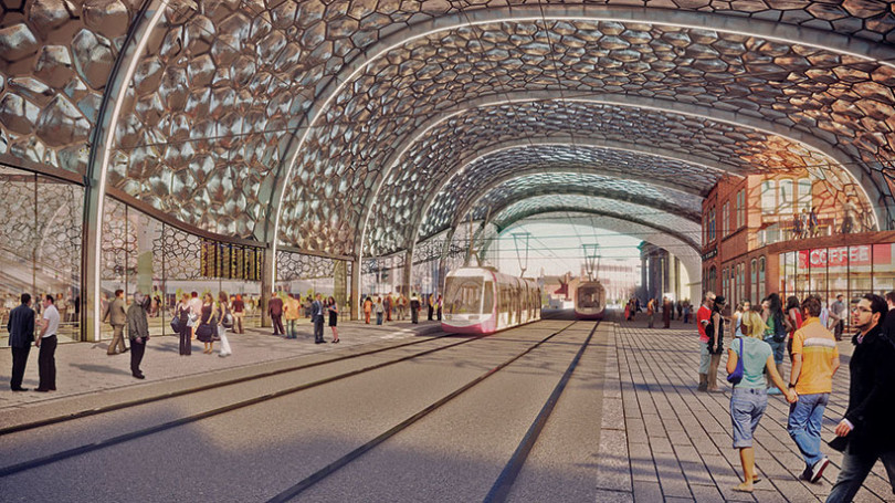 Extension of Midland Metro to Birmingham to open in May