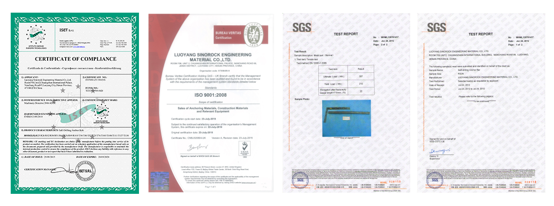 Authoritative certification is the guarantee of our quality