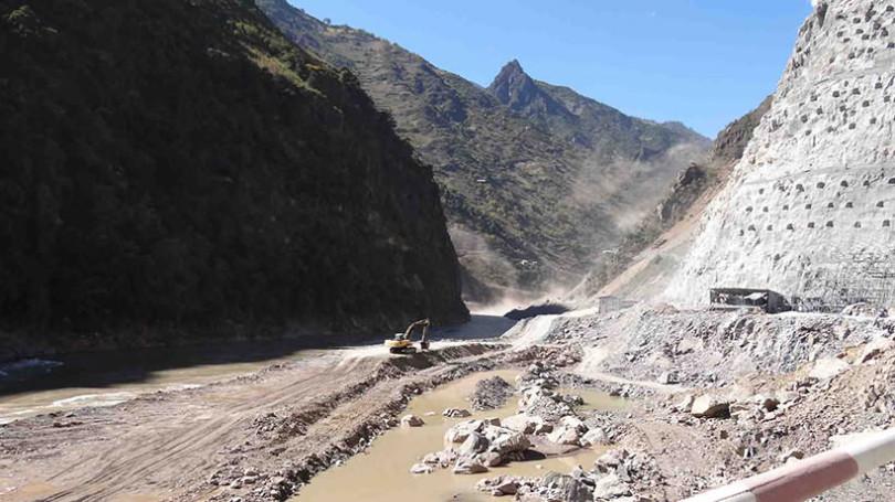 Bakhsh-Abad Hydropower Dam