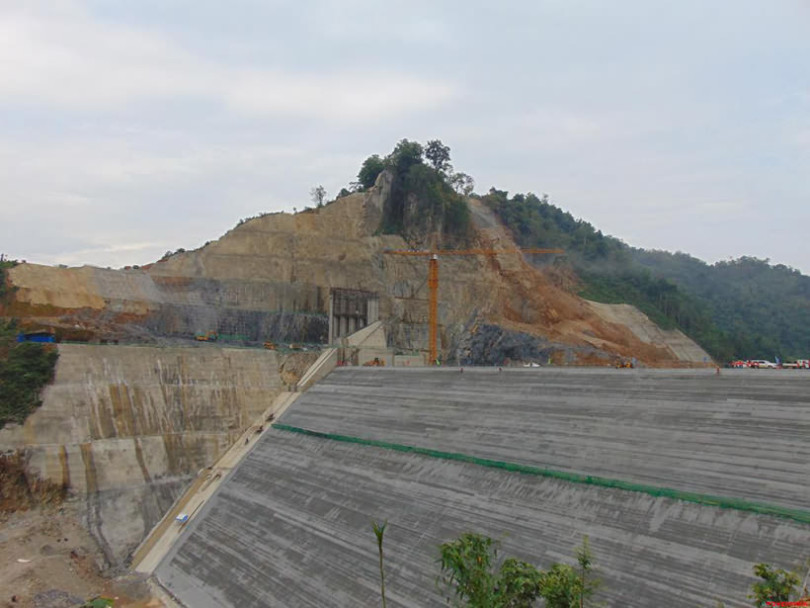 River Damming and Flood Control in Nam Tha 1# Hydropower Project