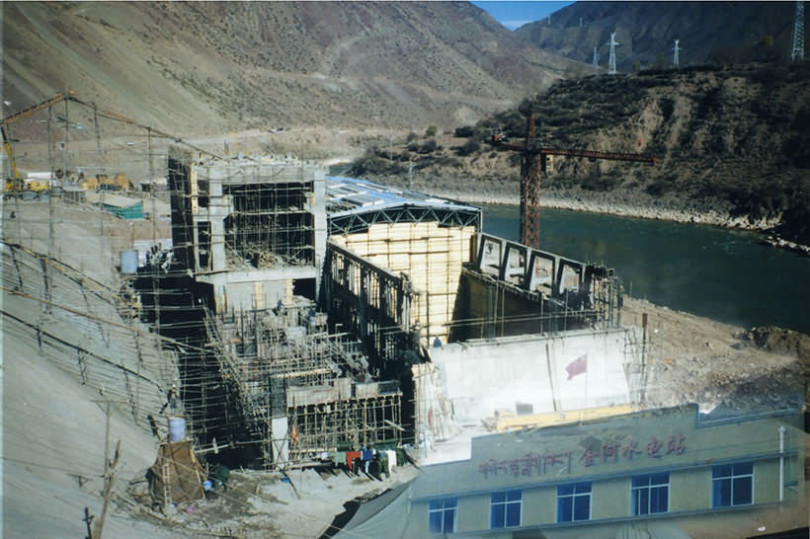 Application of Self Drilling Anchor to Jinhe Hydropower Station
