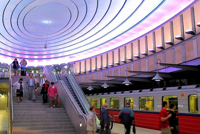 Warsaw Metro Line 2 Construction