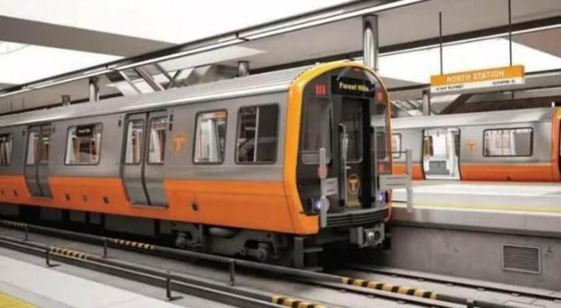 China subway trains